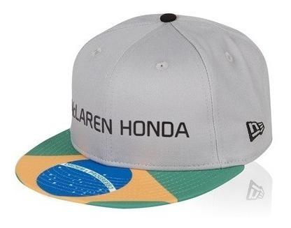 Gorra Mclaren Honda F1 Gran Premio De Brasil New Era 2017