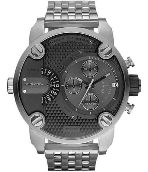 Relógio Diesel Little Daddy Masculino Prata - Idz7259/z