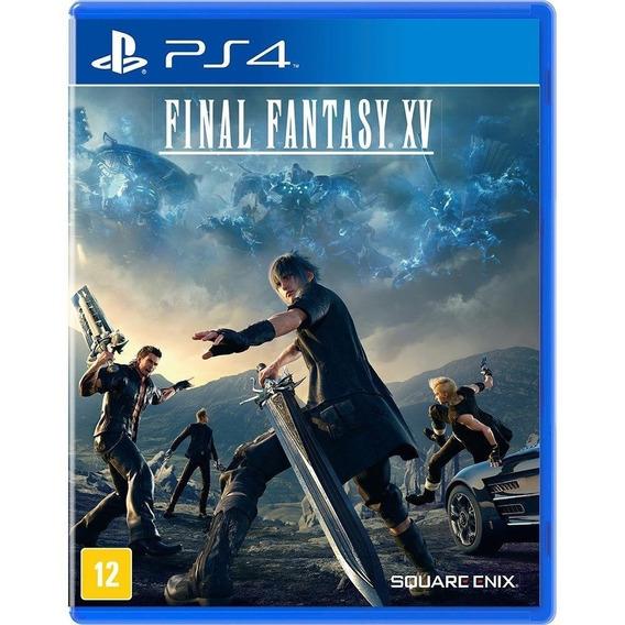 Final Fantasy Xv Ps4 ( Day One Edition ) Fisica Lacrado