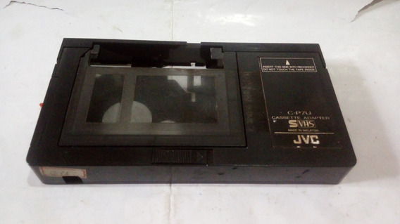 Adaptador Jvc Fita De Video Vhs/c Para Usar Em Video Cassete
