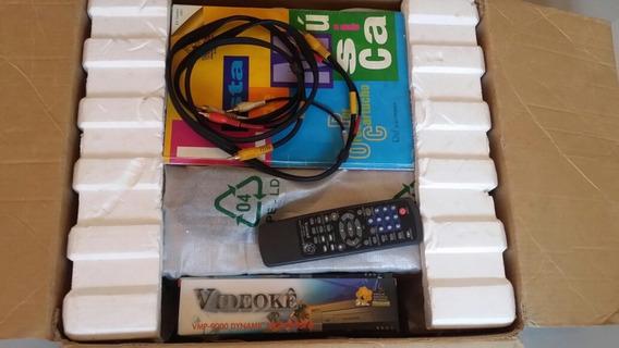 Videoke Vmp 9000 Com Caixa Funcionando Perfeitamente
