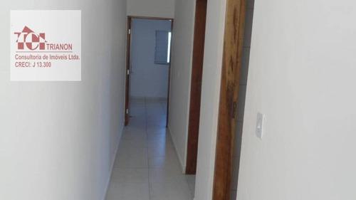Casa Com 2 Dormitórios À Venda, 73 M² Por R$ 220.000,00 - Jardim Cibratel - Itanhaém/sp - Ca0366