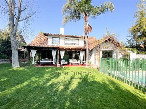 Imagen 1 de 17 de Casa En Venta 4 Dormitorios, Valle La Dehesa, Lo Barnechea