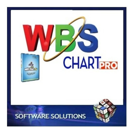 Wbs Chart Pro 4.9a - Nova Versão + Licença Original