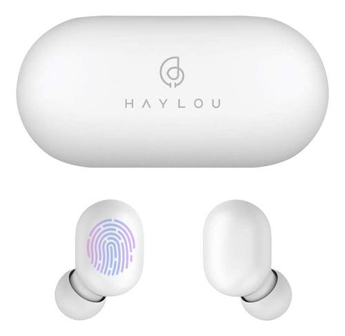 Auriculares inalámbricos Haylou GT1 blanco