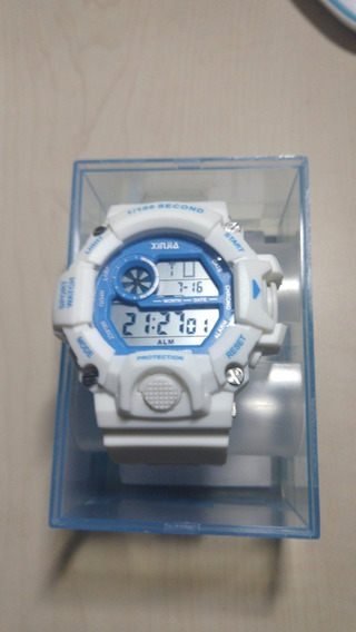 Relógio G-shock Xinjia Branco Original