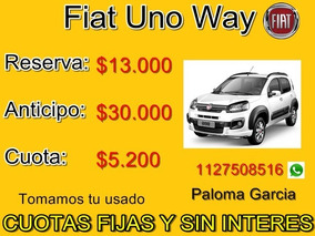 Fiat Uno 30 Mil Plan Recambio Tomamos Usados Gol Fox Clio
