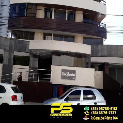 (oportunidade) Apartamento No Brisamar Com 4 Suítes - Ap2133