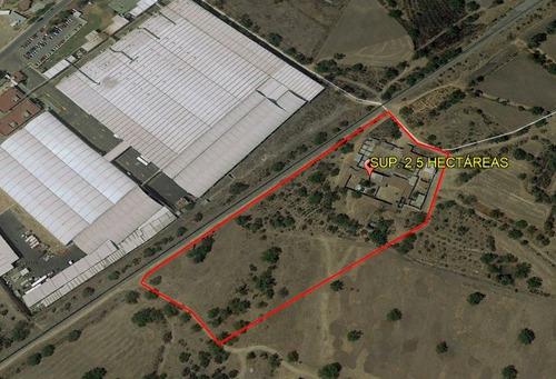 Imagen 1 de 5 de Terreno Industrial Tizayuca Hidalgo Sup. 25,000 Mts