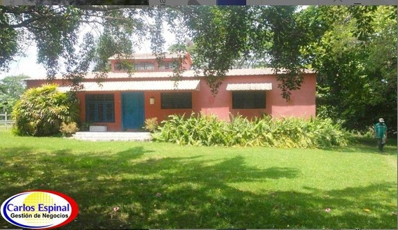 Finca Con Casa En Venta En San Cristóbal, Republica Dominica