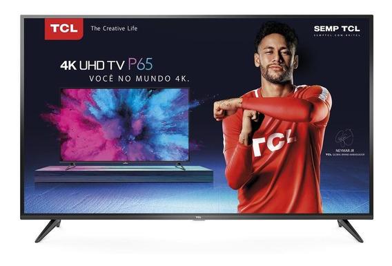 Smart Tv Led Tcl 50 , 4k, Wi-fi, Hdmi E Usb - 50p65us