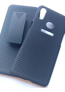 Capa Samsung Galaxy A10s + Suporte Cinto + Película 3d Vidro