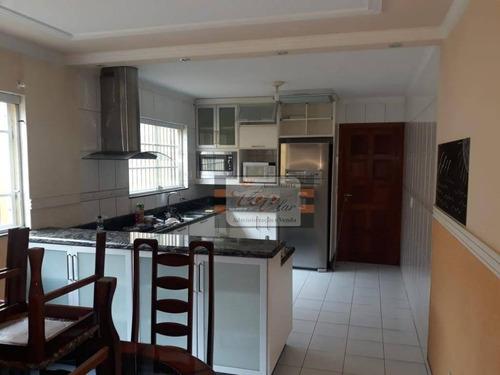 Sobrado Com 3 Dormitórios À Venda, 140 M² Por R$ 675.000,00 - Vila Nossa Senhora Do Retiro - São Paulo/sp - So0675