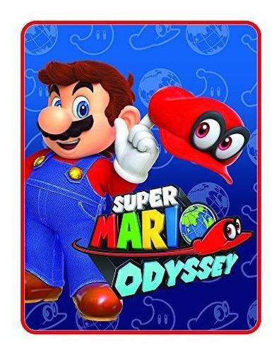 Nintendo Super Mario Tengo Este Tiro Microraschel 46 X 60