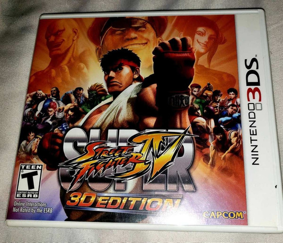 Super Street Fighter Iv Para Nintendo 3ds E 2ds