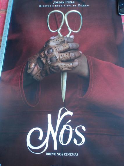 Poster:cartaz:nós:us:jordan Peele:corra!:cinema:94cm X 64cm
