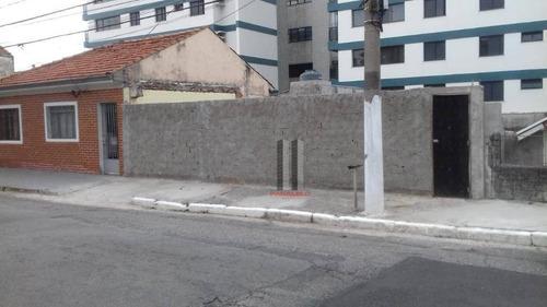 Terreno À Venda, 200 M² Por R$ 600.000,00 - Vila Prudente - São Paulo/sp - Te0148