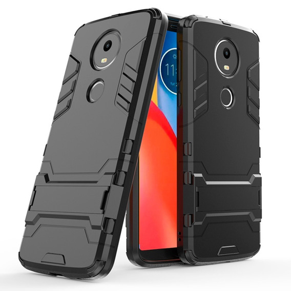 Funda Moto X4 E5 G6 Z2 Play Plus Case Uso Rudo + Cristal