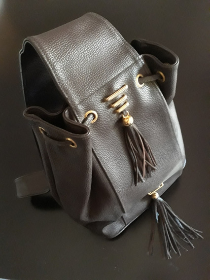 Cartera De Cuero Impecable