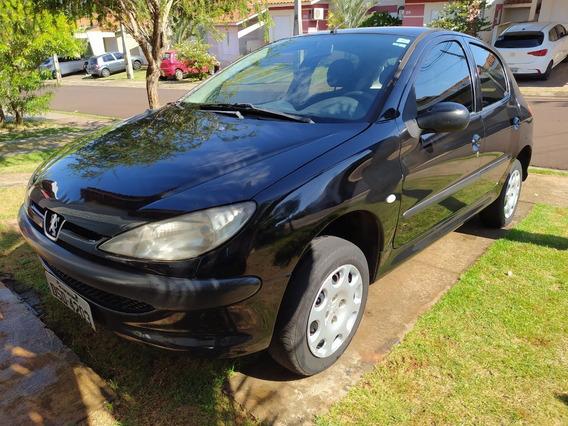 Vendo Peugeot 206 1.4 Flex, Preto, 4 Portas, Ano 2006