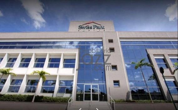 Sala À Venda Swiss Park Office, 40 M² Por R$ 250.000 - Campinas/sp - Sa0079
