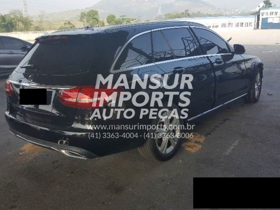Mercedes C300 Estate Perua 2017 Sucata Peças Lanterna Porta