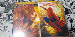 Dvd Spiderman. Pack El Hombre Araña 1 Y 2