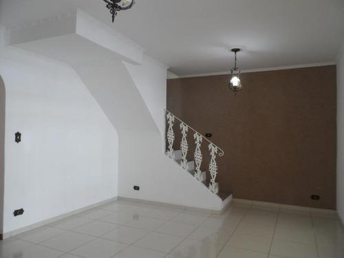 Imagem 1 de 26 de Sobrado Com 3 Dormitórios À Venda, 176 M² - Jardim Santa Cristina - Santo André/sp - So19483