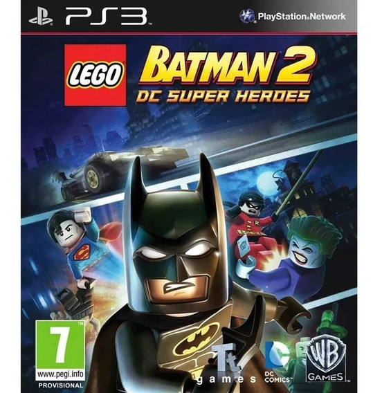 Lego Batman 2 Ps3 Psn Envio Rapido Orginal
