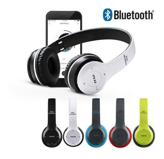 Audifonos Inalambricos Bluetooth Wireless Manoslibres Fm Aux