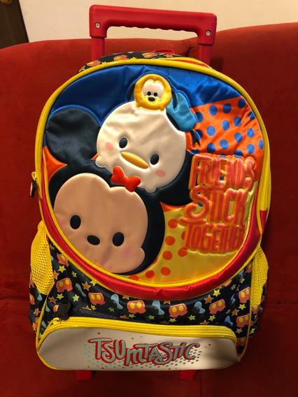Mochila De Carro Tsum Tsum Disney Mickey