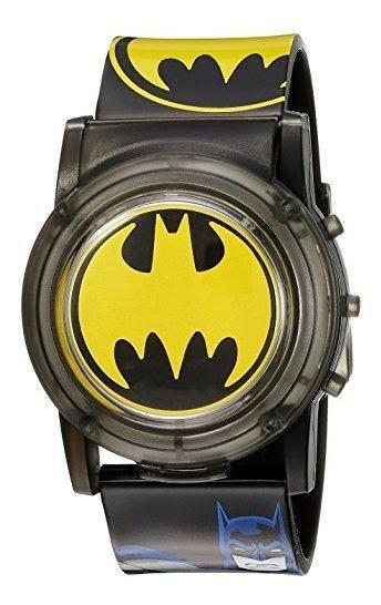 Dc Comics Batman Kids Bat6000sr Reloj Analógico De Cuarzo Ne