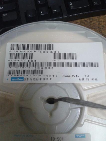 Indutor 33nh 5% 0603 Lqg18hn33nj00d Smd Murata Kit C/ 100 Pç