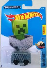 Minecraft Minecart Hot Wheels Ride-ons 2016 70/250