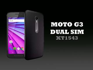 Celular Mototola Moto G3 + Vidrio Templado Y Funda