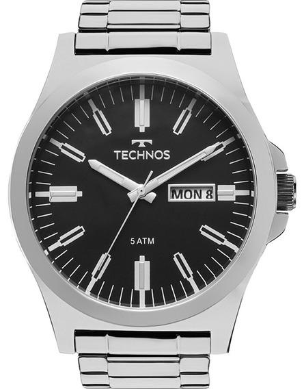 Relogio Technos Masculino Steel Prata - 2305ax/1p