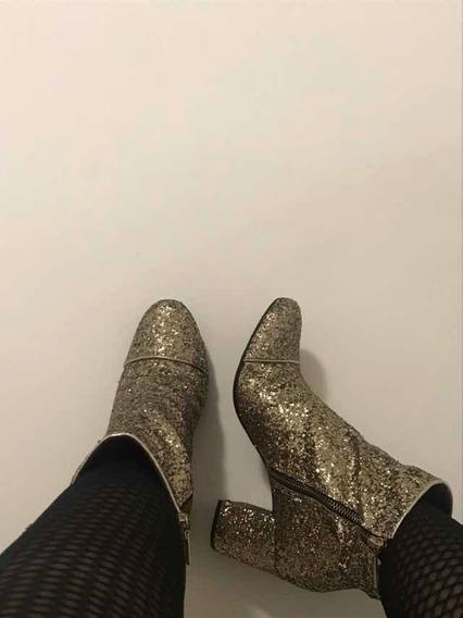 Bota Parisienne Low Glitter | Schutz