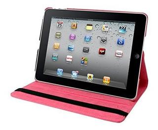 Natico iPad Mini Iv 360 Caso Sintetica Rosa Oscuro 60im4 36