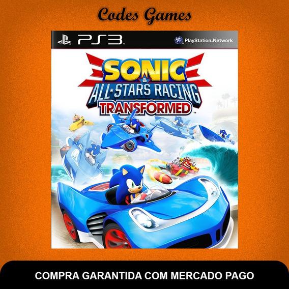 Sonic & All-stars Racing Transformed - Ps3 - Pronta Entrega