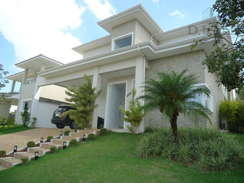 Casa Com 4 Dormitórios À Venda, 404 M² Por R$ 2.998.000,00 - Alphaville Dom Pedro - Campinas/sp - Ca10229