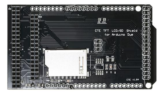 Cte Tft Lcd /cartão Sd Shield Placa De Expansão Para Arduino