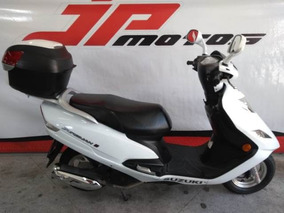 Suzuki Burgman 125 I 2016 Branca