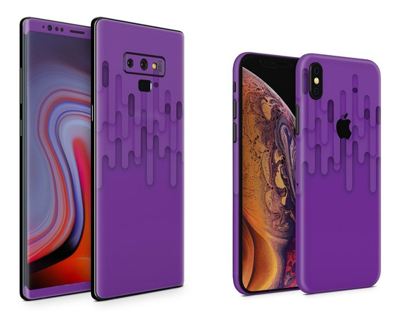 Skin Purple Melt Apple Samsung Huawei Lg Sony Xiaomi Etc