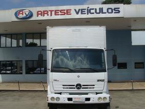Mercedes-benz Mb 1718 Ano 2009 Com Baú