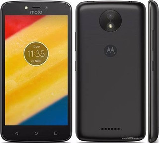 Smartphone Moto C Dual Sim 8gb Motorola Tela 5 Android 7 3g