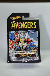 Bedlam Thor 1/64 Hot Wheels Coleccion Marvel The Avengers