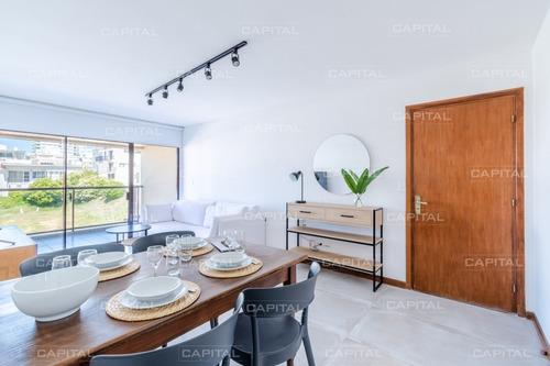 Imagen 1 de 27 de Apartamento En Venta De Temporada Y Venta En Península De Punta Del Este + Dos Dormitorios Y Vista Lateral Al Mar- Ref: 28365