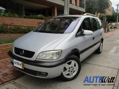 Chevrolet Zafira 2.0 Mt 2000cc 7 Psj
