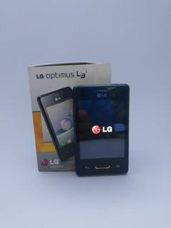 Celular Lg Optimus L3 E425f Usado