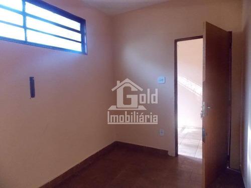 Casa Com 2 Dormitórios À Venda, 47 M² Por R$ 150.000,00 - Vila Monte Alegre - Ribeirão Preto/sp - Ca1451